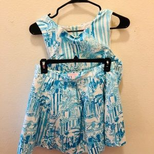 Lily Pulitzer Two Piece Dress